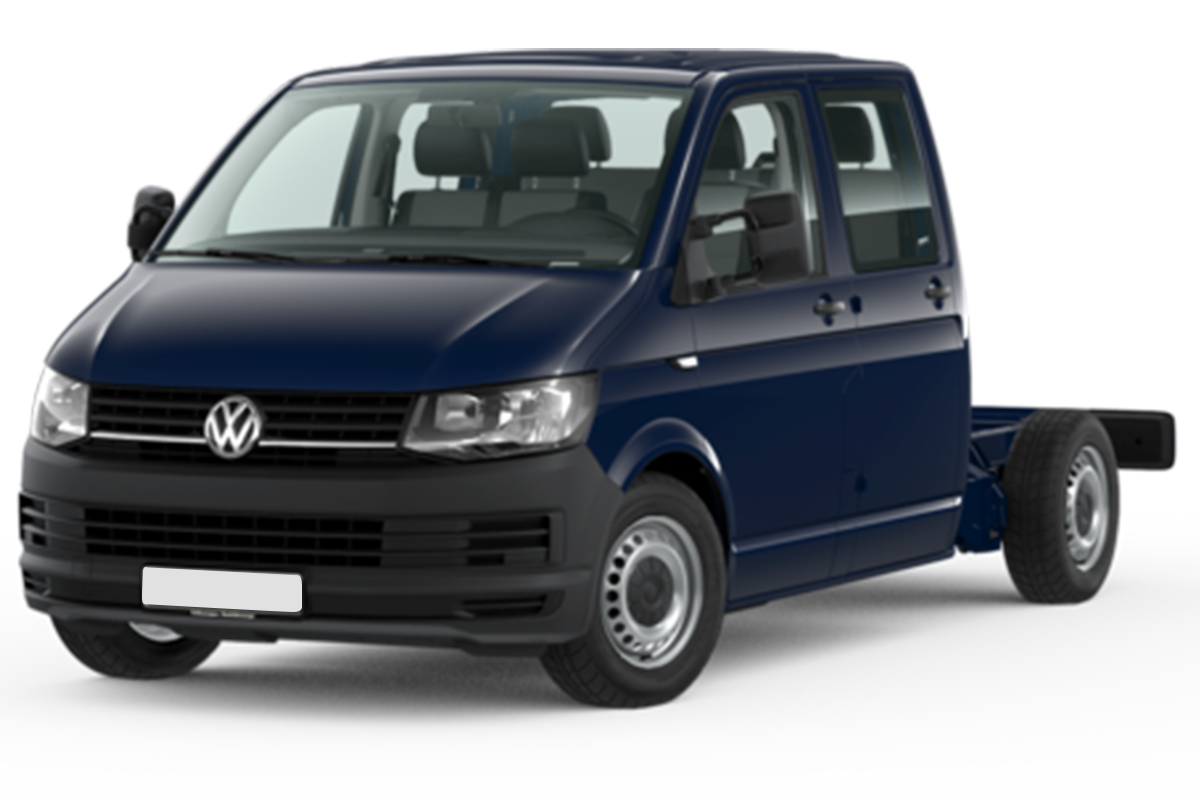 Mandataire VOLKSWAGEN TRANSPORTER CHASSIS DOUBLE CABINE