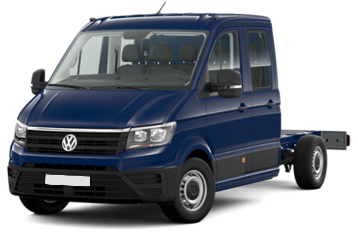 Mandataire VOLKSWAGEN CRAFTER CHASSIS DOUBLE CABINE